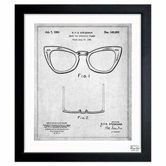 Ray-Ban Wayfarer Framed Print