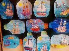 Art For Kids, Crafts For Kids, 3rd Grade Art, Summer Crafts, Art Education, Activities For Kids, Origami, Art Projects, Kindergarten