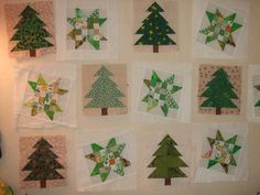 christmas tree quilt pattern   Quilts: Trees and stars?