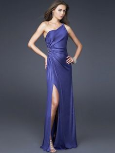 This would be a cute marine corp ball dress
