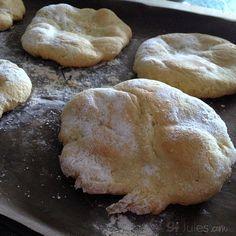 gluten free flour mix pita or naan flatbreads - gfJules