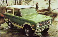 Dejad que los autos vengan  a mi 1974 Ford Bronco