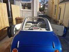 Refurbished 1991 Nissan Figaro, many new additional parts added, BMW Hyper Blue, Mileage 73,866 | in Plymouth, Devon | Gumtree