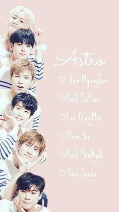 Astro Kpop Members, Kim Myungjun, Jinjin Astro, Astro Wallpaper, Astro Fandom Name, Cha Eun Woo Astro, Jamel, Handsome Korean Actors, Boy Idols