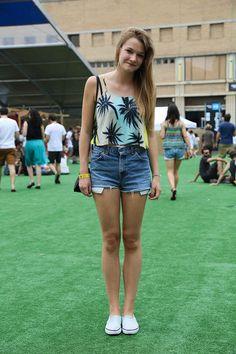 Style Sónar Denim Shorts, Women, Style, Fashion, Swag, Moda, Fashion Styles, Fashion Illustrations, Outfits
