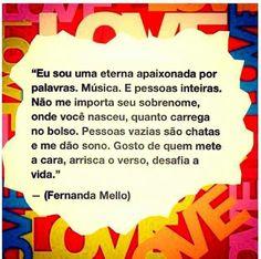 ✪sabedoria - Fernanda Mello