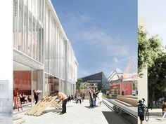 Gallery of Emerging Architects Vargo Nielsen Palle Beat Out BIG, SANAA in New Aarhus School of Architecture Competition - 3