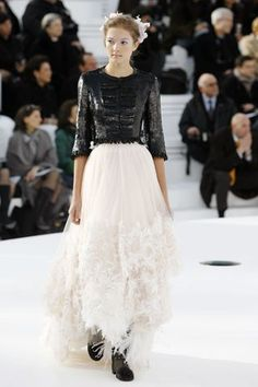 Chanel Spring 2006 Couture Fashion Show - Solange Wilvert