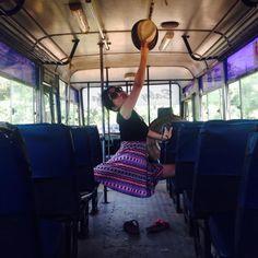 Small dance piece in Goa, India / performance 2014 Photo by Bianca Tschaikner