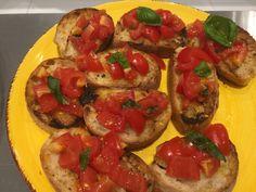 Bruschetta, Ethnic Recipes, Food, Eten, Meals, Diet