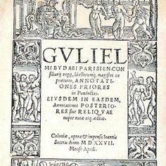 Bel frontespizio animato per la prima parte del commento alle Pandette di Guillaume Budè in una edizione di Colonia del 1527  www.libreriabonfanti.it