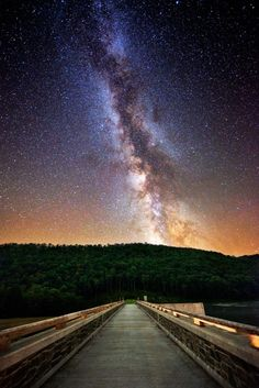 Milky Way, Cherry Springs State Park, Pennsylvania  photo via george