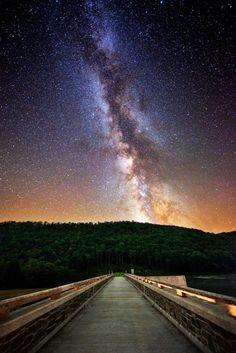 Milky Way, Cherry Springs State Park, Pennsylvania