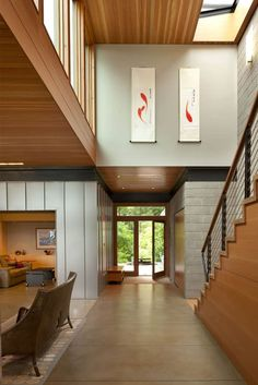 Contemporary Sustainability Home: Ellis Residence by Coates DesignSeattle-based studio Coates Design has designed the Ellis Residence, a LEED Platinum single family home completed in 2010. The owners requested that t... Architecture Check more at https://rusticnordic.com/contemporary-sustainability-home-ellis-residence-by-coates-design/