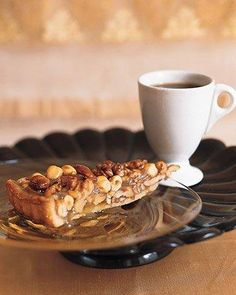 Caramel Nut Tart Recipe - perfect for the holidays