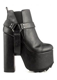 separation shoes 44d6f 3d30d Svarta Skor, Plattform