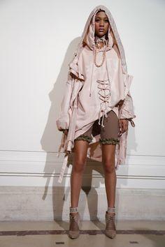 Fenty by Rihanna Fashion show backstageParis Fashion Week Spring 2017 RTW collections