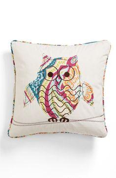 'Magnolia Owl' Pillow