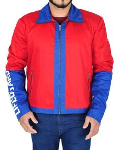 Getmyleather is definitely a treasure full with your favorite actor's wardrobe. Check out the Baywatch Dwayne Johnson jacket at discounted price. Red Costume, Costumes, Lifeguard Costume, We Wear, How To Wear, Baywatch, Dwayne Johnson, Cotton Jacket, Casual Wear