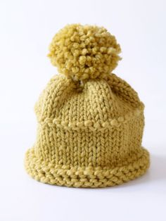Free Knitting Pattern: Knit Hat