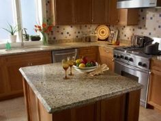 Kitchen - Granite Contact Paper