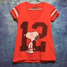 Snoopy Tshirt XS not rips, holes or stains. Shirt is in great shape. Tops Tees - Short Sleeve