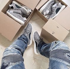 Who managed to grab a pair of these hottest Kicks? Sold out in 20 minutes. #Yeezyboost350#Sleekdesign#Supercomfy#Adidas# by Kanye West