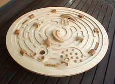 Wooden Labyrinth marble toy – 1 of 2 Woodworking Toys, Woodworking Projects, Broderie Bargello, Marble Maze, Wood Games, Cnc Projects, Wooden Puzzles, Designer Toys, Wood Toys
