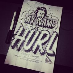 Gemma O'Brien draws awesome puking puns on airlines' spew bags.
