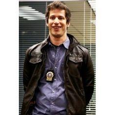 Brooklyn 99 Andy Samberg (Jack Peralta) Leather Jacket