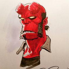 Hellboy - Paolo Rivera