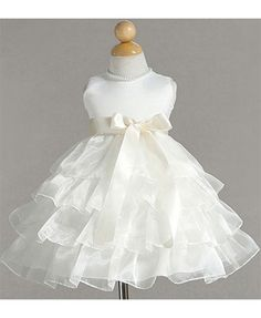 this is a possible baby flower girl dress :) so cute