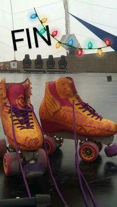 Les patins de Luna Valente