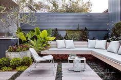 Balmain - landscape design project patios in 2019 сад, патио Modern Landscape Design, Landscape Plans, Modern Landscaping, Landscaping Ideas, Garden Landscaping, Outdoor Rooms, Outdoor Living, Outdoor Furniture Sets, Outdoor Decor