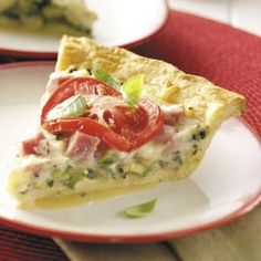 Zucchini Crescent Pie Recipe from Taste of Home