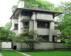 William Martin House, Frank Lloyd Wright house in Oak Park, IL
