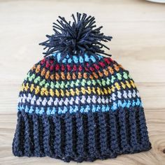 Crochet this hat using leftover yarn from other projects, freebie pattern, thanks so xox