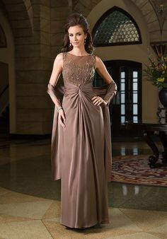 Jade Couture K168068 Brown Mother Of The Bride Dress
