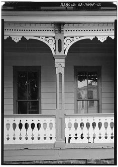 5 x 7 in. Victorian Windows, Victorian Porch, Victorian Homes, House Awnings, House Siding, Victorian Architecture, Architecture Details, Porch Trim, Porches