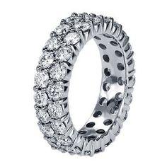 Diamond Eternity Wedding Band in Platinum