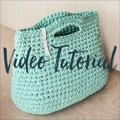 Crochet handbag video tutorial and PDF pattern is available at my Etsy shop! Only three days special price $8 Hurry! Download and make your own summer bag of chunky t-shirt yarn! Enjoy ⠀ #knitknotclass #masterclass #tutorial #pattern #crochetpattern #videoguide #videotutorial #crochettutorial #tshirtyarn #recycled #recycledyarn #crochetclass #knittingpattern #chunkyyarn #diy #crochet #etsy #etsycrafts