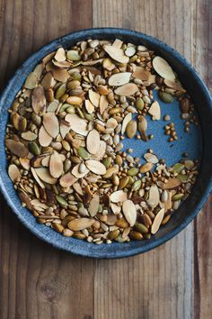 Toasted Nuts, Seeds,