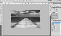 Le noir et blanc artistique pour les débutants avec Photoshop