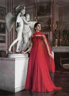 L'Officiel 1956: Grès; Vintage Fashion