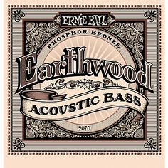 2070 Earthwood Acoustic Bass Strings   Musician's Friend