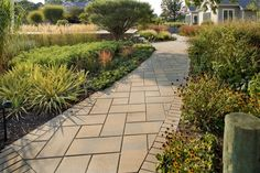 Front Walkway Design - Landscaping | Bucks Montgomery - Brick Patterns