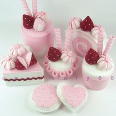 I so need a daughter! Tea party dessert set from onenonly88 on Etsy