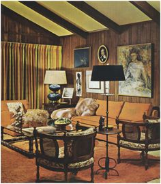 1960s Living Room | 1960s Decor | Pinterest | 1960s, 1960s Decor And Living  Rooms