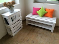 Stylový nábytek z palet