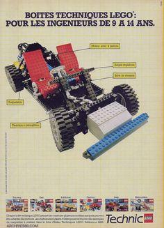 Ad/Pub Lego Technic (1983)